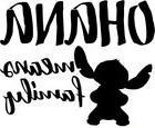 Vinyl Decal Truck Car Sticker Laptop - Disney Lilo & Stitch