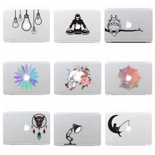 Vinyl Decals Stickers Laptop Removeable Skin Cover Macbook A