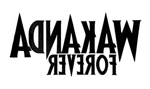 wakanda forever black panther decal
