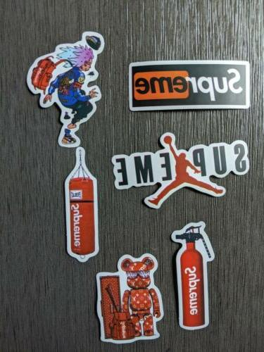 Supreme Waterproof Sticker Pack Lot Of 6 For Laptop Mobile P
