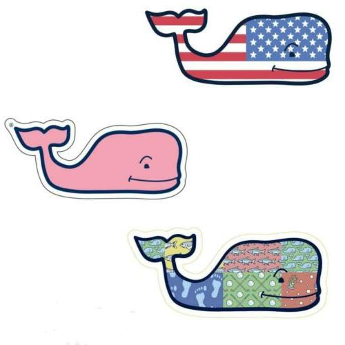 Vinyard Vines Pink Whale Sticker Lot Bundle
