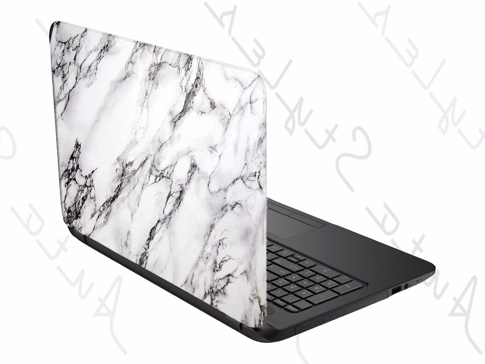 Mid Century Marble Laptop Skin Universal Tablet Cover Custom