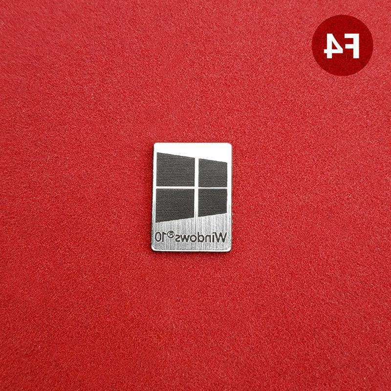 Windows Case Badge Sticker Laptop - 4