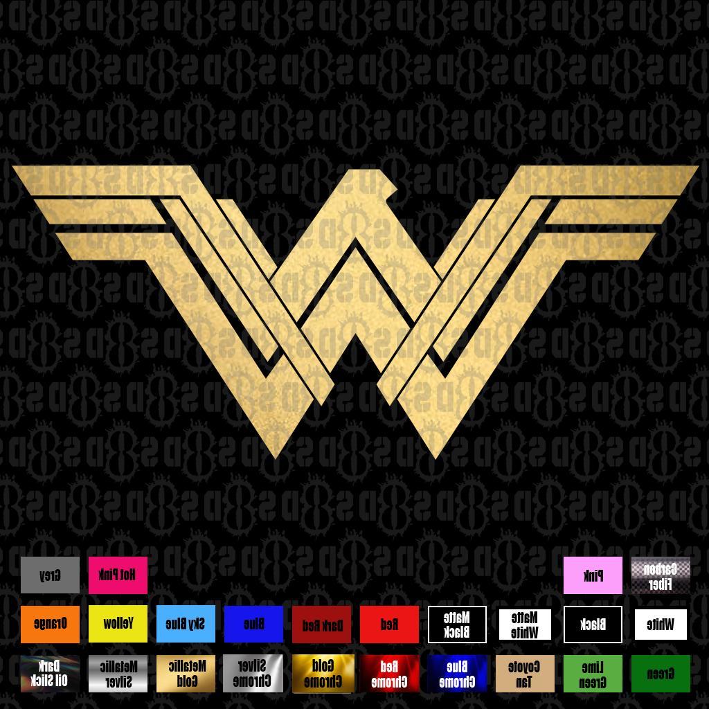Wonder Woman 2017 Comics Vinyl laptop car