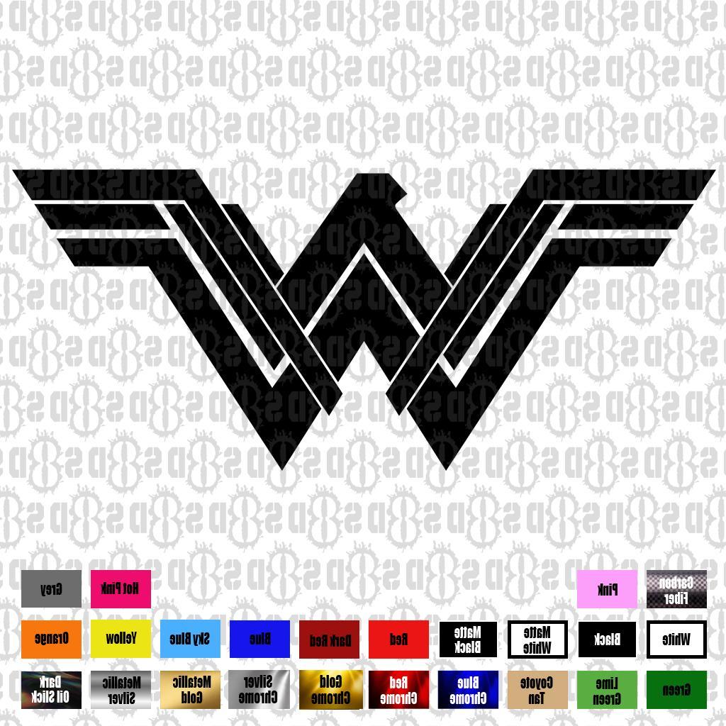 Wonder Woman Comics Vinyl car