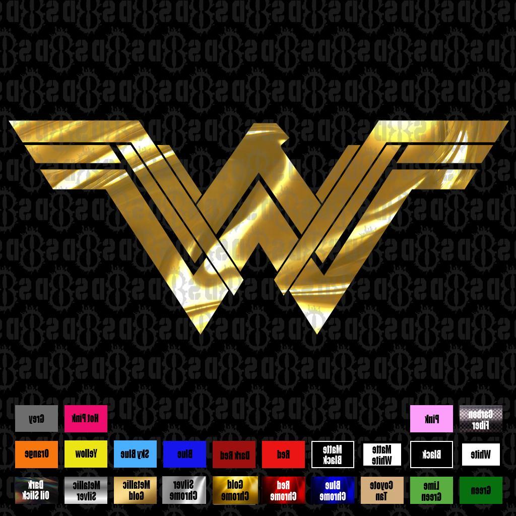 wonder woman 2017 d c comics sticker