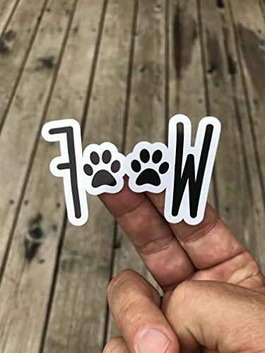 woof dog sticker