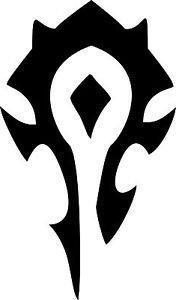 Chase Grace Studio World Of Warcraft Horde Symbol Vinyl Deca