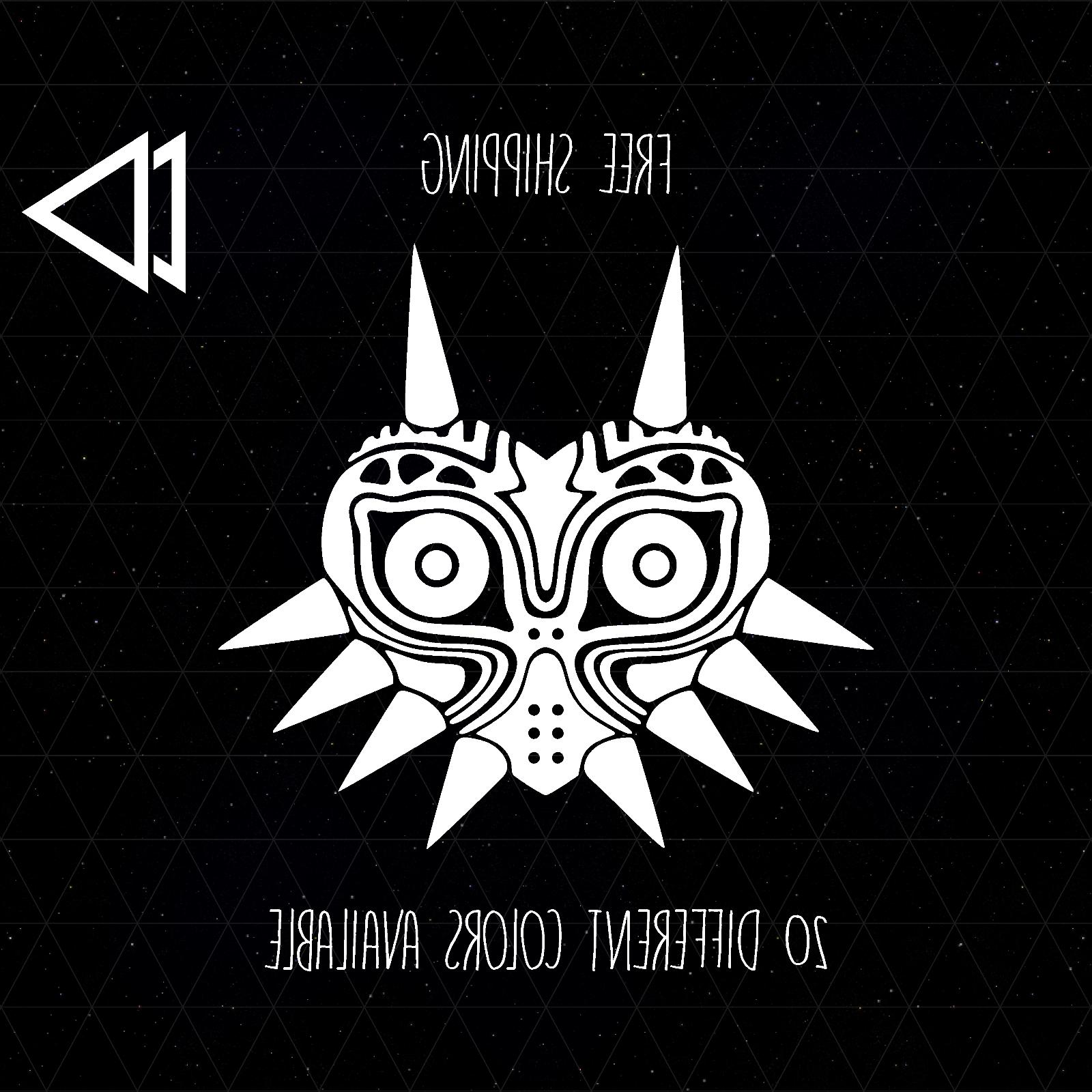 zelda majoras mask logo vinyl decal sticker