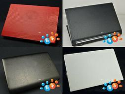 KH Laptop Carbon Crocodile Leather Sticker Skin Cover for Le