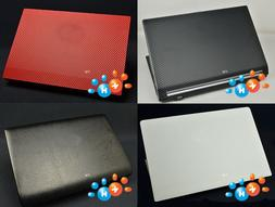KH Laptop Carbon Leather Sticker Skin Cover Protector for Le
