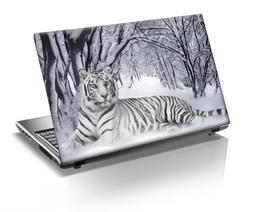15'6 Inch Taylorhe laptop skin protective decal tiger lying
