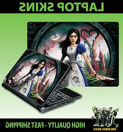 LAPTOP STICKER ALICE MADNESS RETURNS WONDERLAND ACCESSORIES