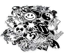 Nuoxinus Laptop Stickers , Black White Car Stickers Skateboa