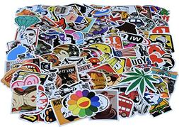 Laptop Stickers Set Random Styles 100 Pcs