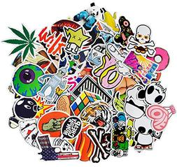 Nuoxinus Laptop Stickers 200pcs Waterproof Graffiti Vinyl St