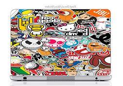 Laptop VINYL DECAL Sticker Skin Print Popular Sticker Bomb f