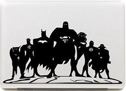 Vati Leaves Removable Dc Comics Justice League Protective Fu