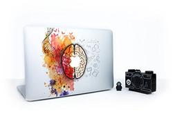 Laptop Stickers Macbook Decal - Removable Vinyl w/ GLOWING A