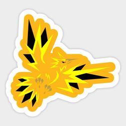 Legendary Pokemon Tribal Zapdos Electric Bird Phone Laptop V