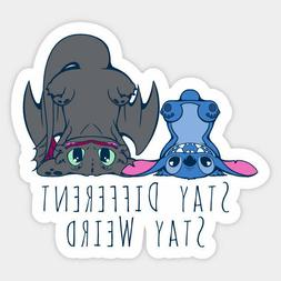 Lilo and Stitch Ohana High Quality Vinyl Decal Decor Wall Bu
