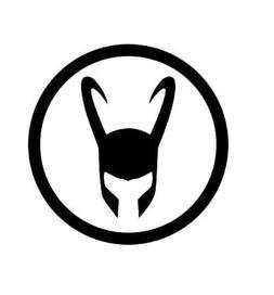 loki symbol avengers decal vinyl sticker cars