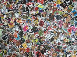Lot 100 Random Vinyl Laptop Skateboard Stickers bomb Luggage