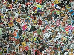 Lot 200 Random Vinyl Laptop Skateboard Stickers bomb Luggage