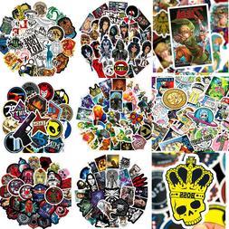 Lot 50 Skateboard Vinyl Sticker Skate Graffiti Laptop Luggag