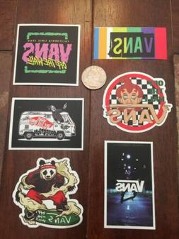 Lot Of 6 VANS Skateboard Off The Wall Stickers Laptop Hydro