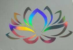 Lotus Flower Yoga Namaste Car Laptop Tumbler Phone Vinyl Dec
