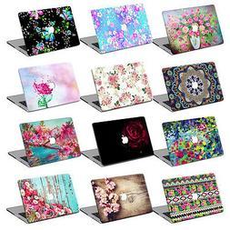 """Fr Macbook Air 11""""12""""Pro 13""""15""""Retina Flower Hard Laptop Cas"""