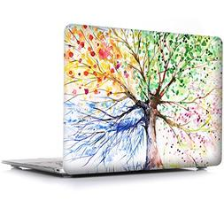 iCasso Macbook Air 13 Inch Case Rubber Coated Glossy Hard Sh