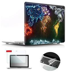 Se7enline Macbook Pro Case Pattern Soft Touch Hard Shell Pla