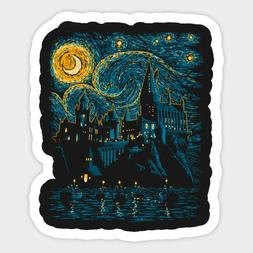 Magical World Harry Potter Starry School Vinyl Decal Wall De