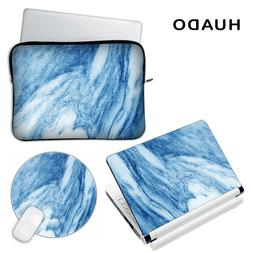 Marble vinyl decal <font><b>laptop</b></font> skin cover for