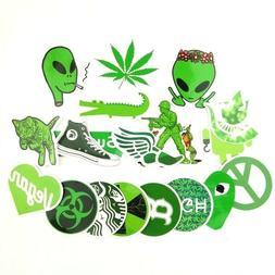 marijuana alien 420 sticker pack bomb lot