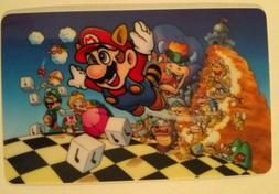 Mario World Sticker decal ipad laptop skate board phone game
