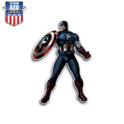 Marvel Captain America Stylized Sticker Decal Phone Laptop W
