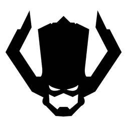 Marvel Comics Galactus, Black, 12 Inch, Die Cut Vinyl Decal,