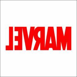 MARVEL Decal / Sticker - Choose Size & Color - Yeti Car Lapt