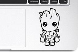 Marvel's The guardians of the Galaxy Baby Groot Vinyl Decal