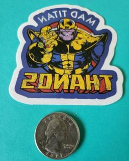 Marvel Mad Titan Thanos VINYL DECAL LAPTOP  Skateboard Stick