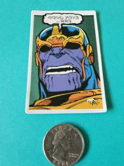 Marvel Thanos VINYL DECAL LAPTOP  Skateboard Sticker bomb