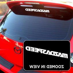 Mazdaspeed Sticker Decal Mazda 3 6 P Vinyl Decal Sticker Win