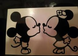Mickey & Minnie Kissing Disney iPhone Vinyl Decal/Sticker -