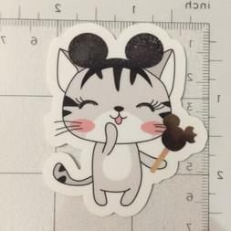 Mickey Ears Kitty - Disney Kitty Sticker - Laptop Tumbler Wa