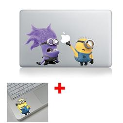 Minions Purple Macbook Stickers Decal For Laptop Computer Wa