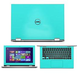 Mint Green skin decal wrap skin Case for Dell Inspiron 11 30