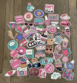 mix lot 56 vsco skateboard stickers vinyl